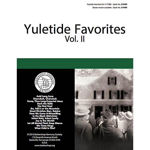 Hal Leonard Yuletide Favorites (Volume II) TTBB A Cappella arranged by Various