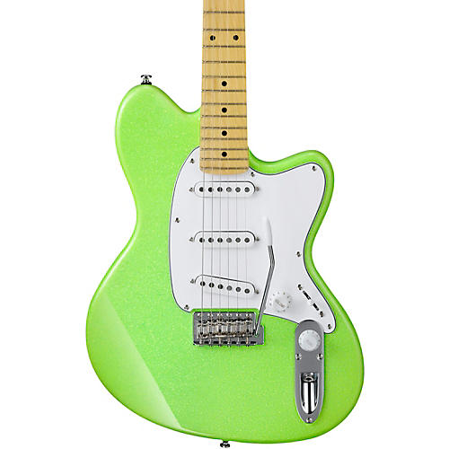Ibanez Yvette Young YY10 Signature Electric Guitar Slime Green Sparkle