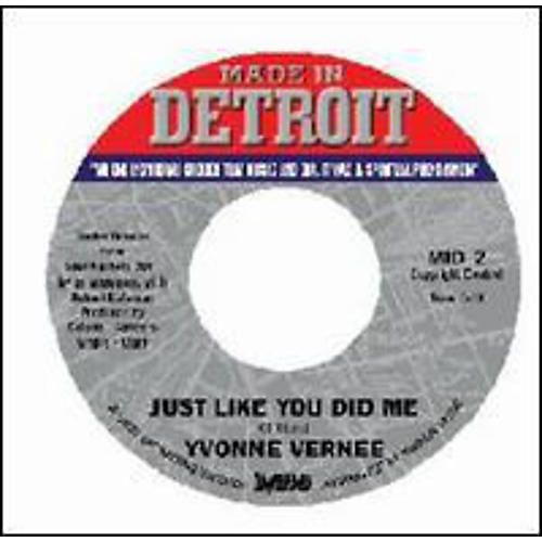 Alliance Yvonne Vernee - Just Like You Did Me