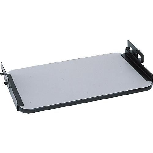 Quik-Lok Z-712 Black and Gray Sliding Shelf