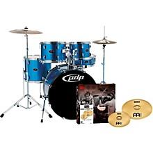 Z5 5-Piece Drumset with Meinl Cymbals Aqua Blue