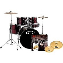 Z5 5-Piece Drumset with Meinl Cymbals Black Cherry