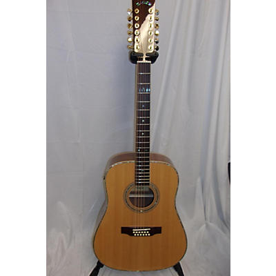 Zager ZAD90012E 12 String Acoustic Electric Guitar