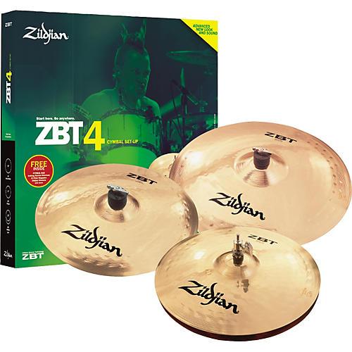 Zildjian ZBT 4-Piece Starter Set