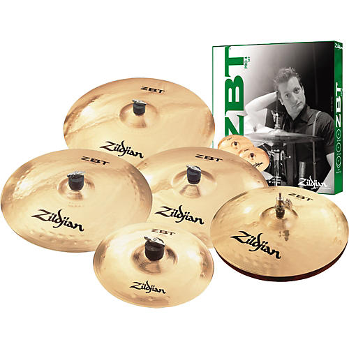 zildjian zbt 4 pro super cymbal pack musician 39 s friend. Black Bedroom Furniture Sets. Home Design Ideas