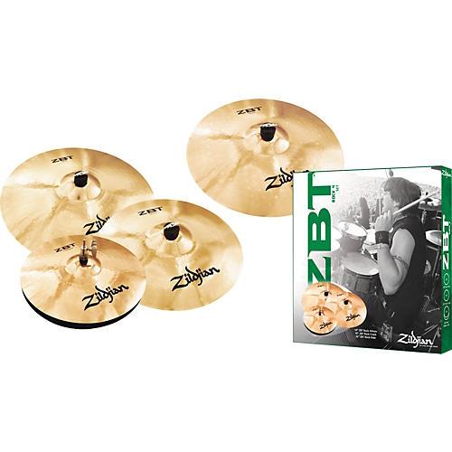 Zildjian ZBT 4 Rock Cymbal Pack with Free 18