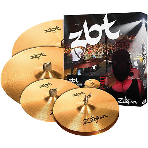 Zildjian ZBT Pro Cymbal Set with Free 14