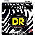 DR Strings ZEBRA Electric-Acoustic Heavy (9-46) thumbnail