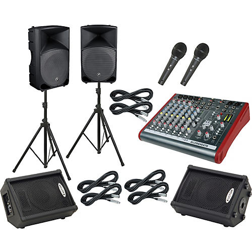 Allen & Heath ZED 10FX / Thump TH-15A Mains & Monitors Package