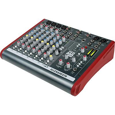 Allen & Heath ZED-10FX 6-Channel USB Mixer with Effects