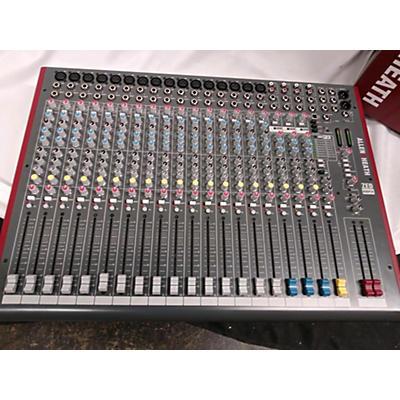 Allen & Heath ZED22FX Unpowered Mixer