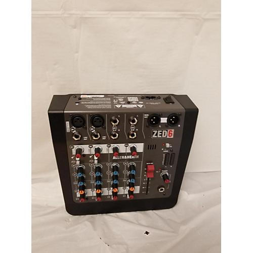 Allen & Heath ZED6 Unpowered Mixer