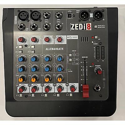 Allen & Heath ZEDI8 Powered Mixer