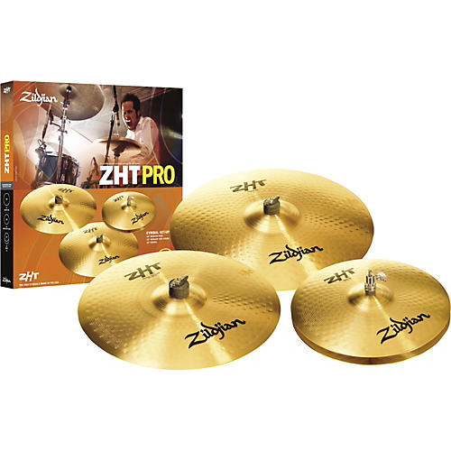 zildjian zht pro 4 cymbal pack musician 39 s friend. Black Bedroom Furniture Sets. Home Design Ideas