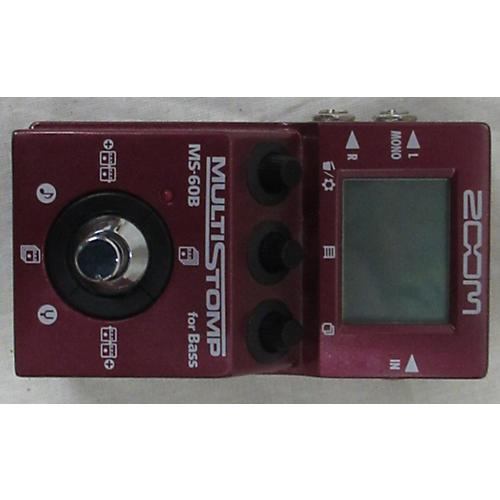 ZMS60B Multistomp Bass Bass Effect Pedal