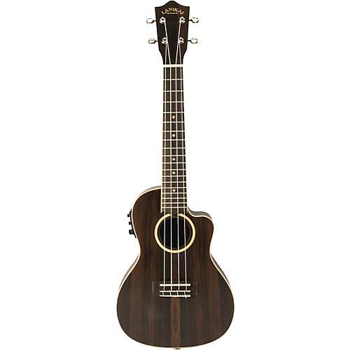 Lanikai ZR-CEC Ziricote Concert Acoustic-Electric Ukulele Condition 2 - Blemished Matte 190839807038