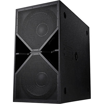 "BASSBOSS ZV28-MKII Dual 18"" 4,000W Powered Subwoofer"