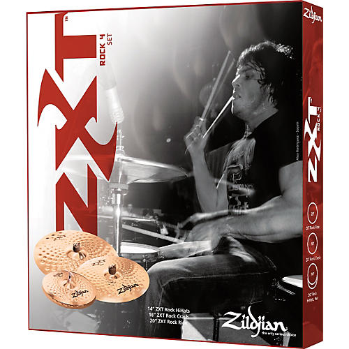 Zildjian ZXT Rock 4-Piece Box Set