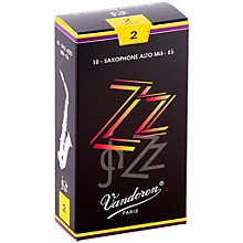 ZZ Alto Saxophone Reeds Strength - 2, Box of 10