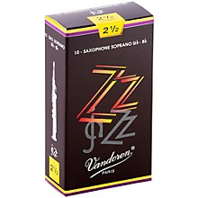 ZZ Soprano Saxophone Reeds Strength 2.5, Box of 10