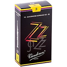 ZZ Soprano Saxophone Reeds Strength 3, Box of 10