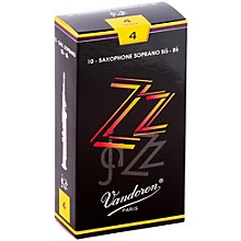 ZZ Soprano Saxophone Reeds Strength 4, Box of 10