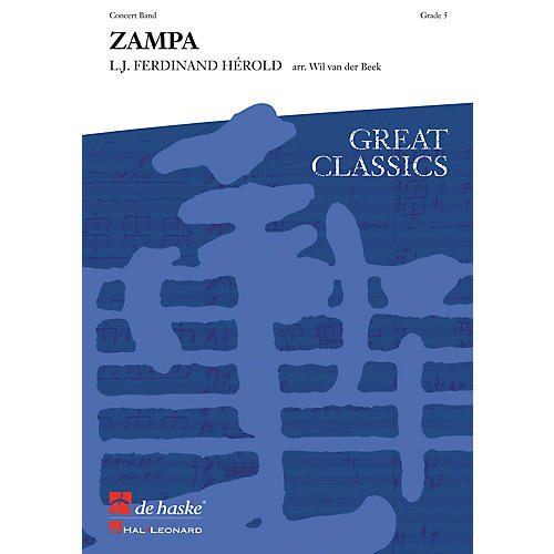 Hal Leonard Zampa Score Only Concert Band
