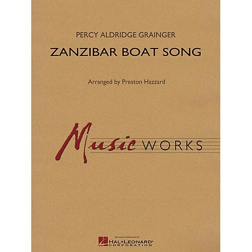 Hal Leonard Zanzibar Boat Song Concert Band Level 4 Arranged by Preston Hazzard