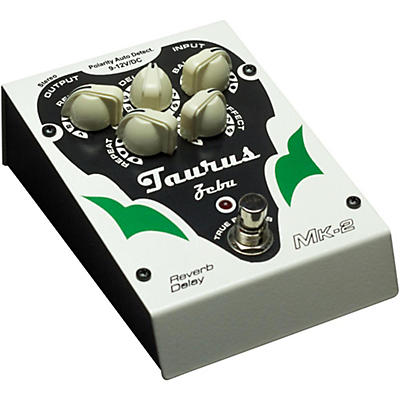 Taurus Zebu MK2 Reverb Delay Effects Pedal
