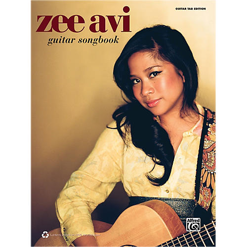 Alfred Zee Avi Guitar Songbook Book