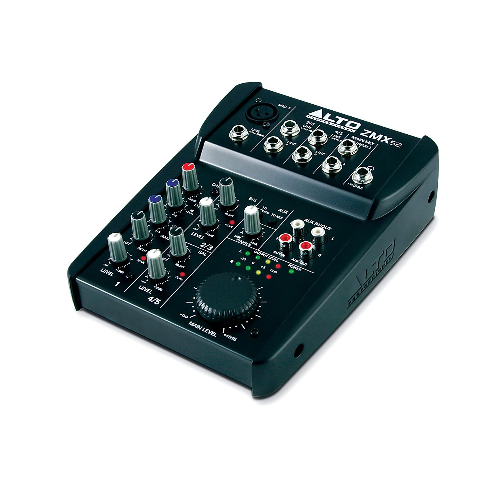 Alto Zephyr Series ZMX52 5-Channel Compact Mixer