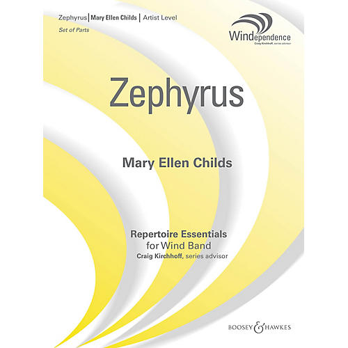 Boosey and Hawkes Zephyrus (Score Only) Concert Band Level 5 Composed by Mary Ellen Childs