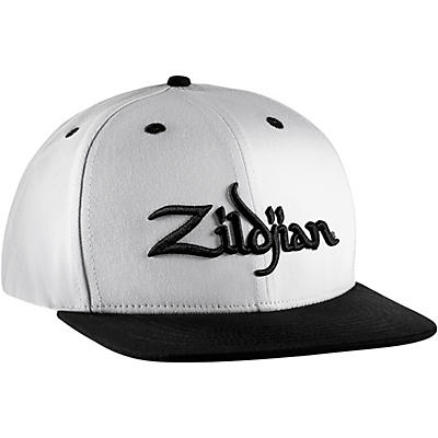 Zildjian Zildjian White 6 Panel Snapback Hat
