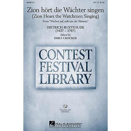 Hal Leonard Zion hört die Wächter singen (Zion Hears the Watchmen Singing) TB arranged by Emily Crocker