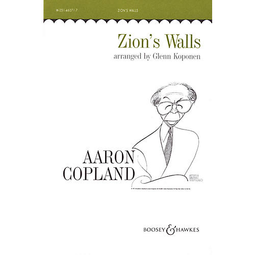 Boosey and Hawkes Zion's Walls (Revivalist Song) SATB arranged by Glenn Koponen