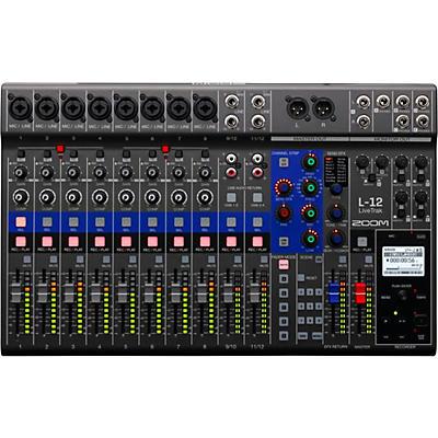 Zoom LiveTrak L-12 12-Channel Digital Mixer