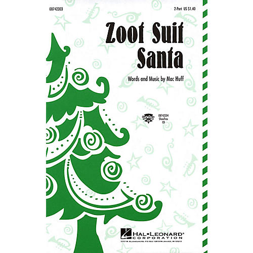 Hal Leonard Zoot Suit Santa 2-Part