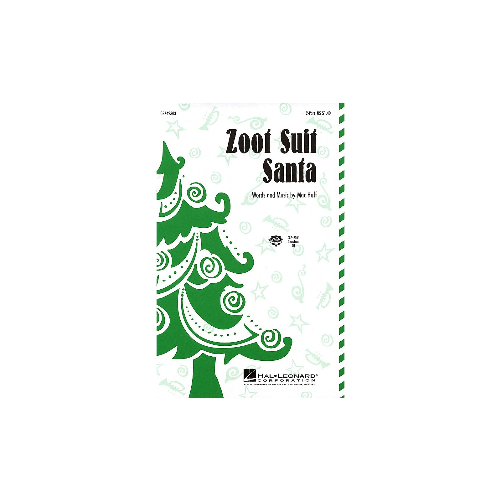 Hal Leonard Zoot Suit Santa ShowTrax CD