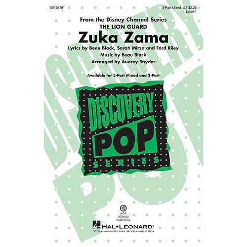 Hal Leonard Zuka Zama (Discovery Level 1) VoiceTrax CD Arranged by Audrey Snyder