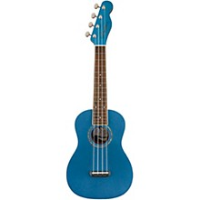 Zuma Concert Ukulele Walnut Fingerboard Lake Placid Blue