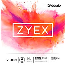 Zyex Series Violin A String 3/4 Size