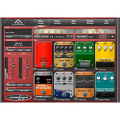 Audiffex ampLion Pro Special Guitar Gear Simulation Software