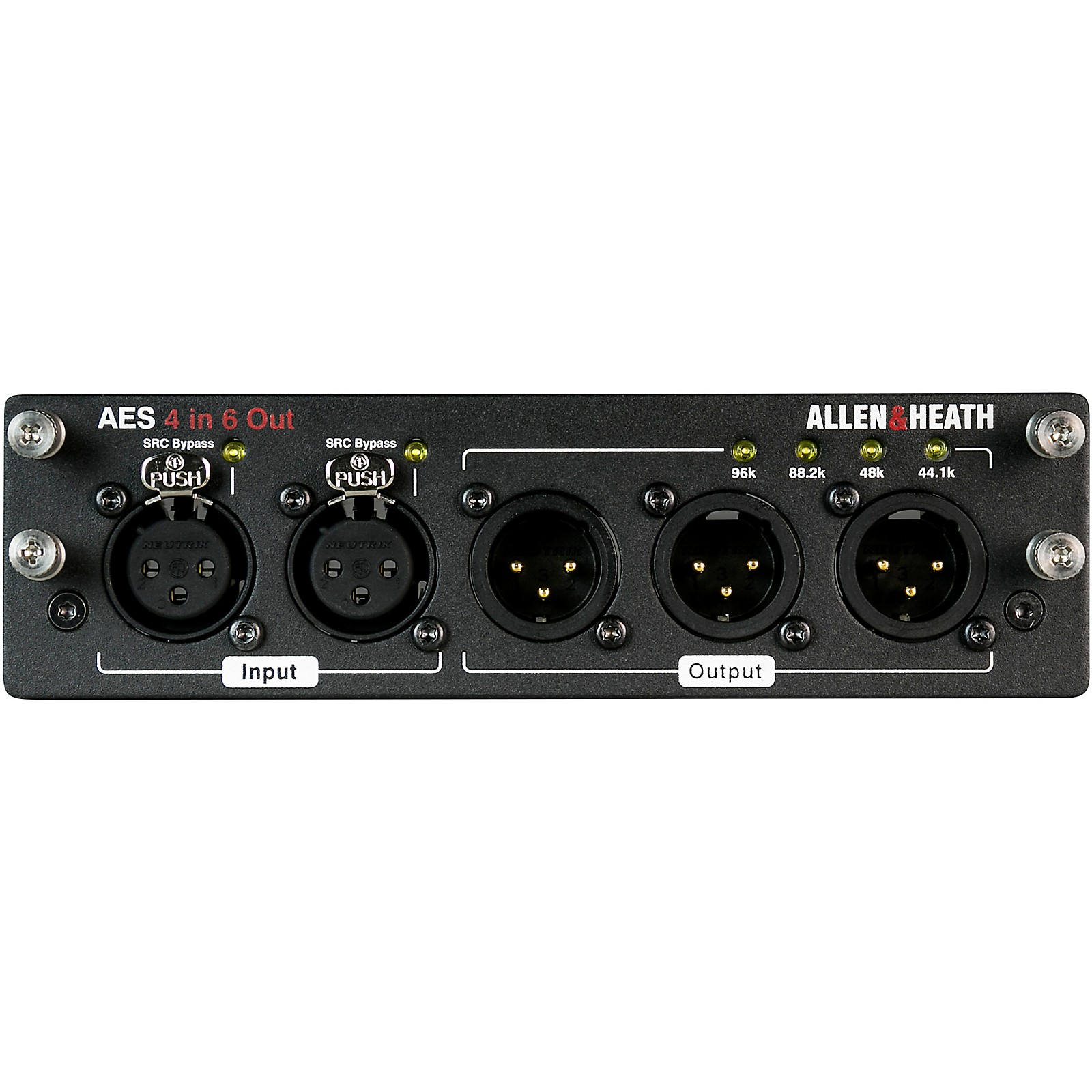 Allen & Heath dLive AES3 Module - 4 in, 6 out