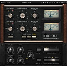 Waves dbx 160 Compressor / Limiter Native/SG Software Download