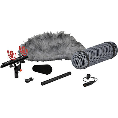 DPA Microphones d:dicate 4017B-R Shotgun Microphone with Ryocote Windshield