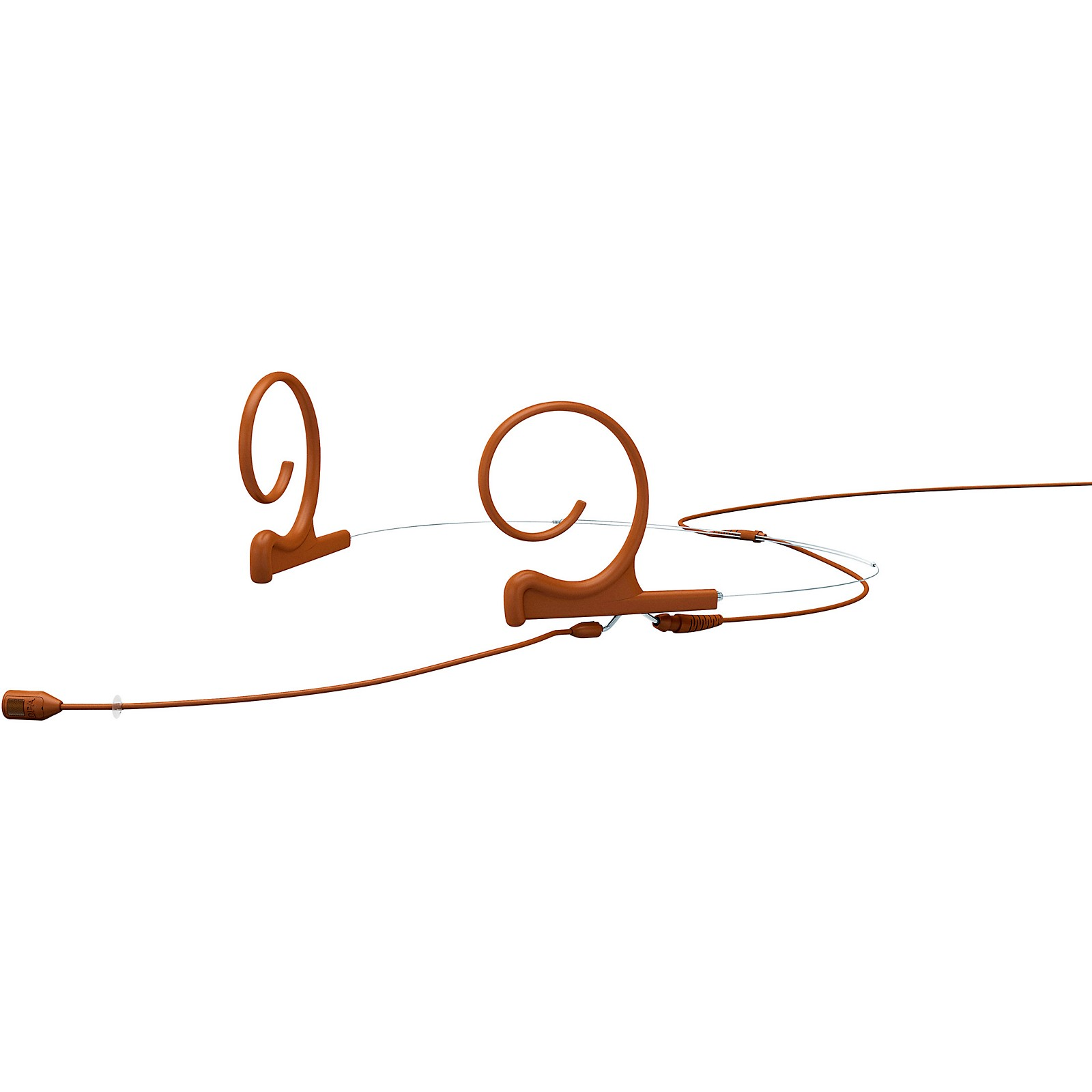 DPA Microphones d:fine FID Slim Directional Headset Microphone, Dual ear, 120mm boom, Microdot connector, Brown