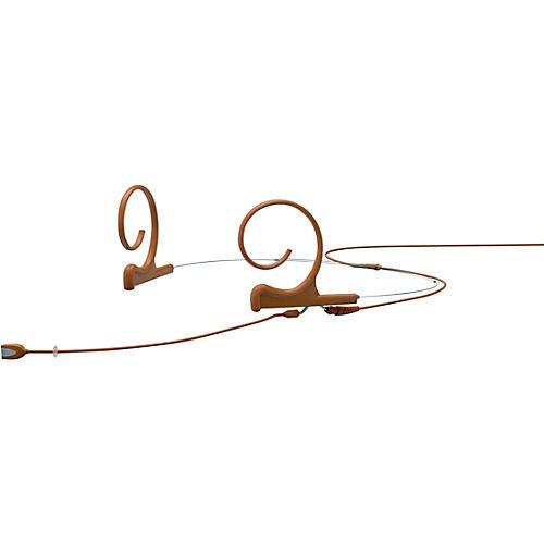 DPA Microphones d:fine FID Slim Directional Headset Microphone—Dual Ear, 100mm Boom, Brown