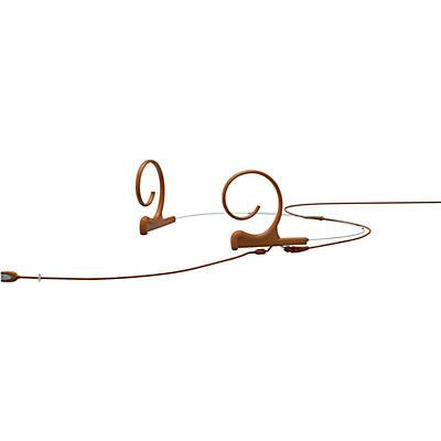 DPA Microphones d:fine FID Slim Directional Headset Microphone—Dual Ear, 120mm Boom, Brown