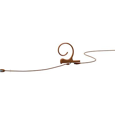 DPA Microphones d:fine FID Slim Directional Headset Microphone—Single Ear, 120mm Boom, Brown