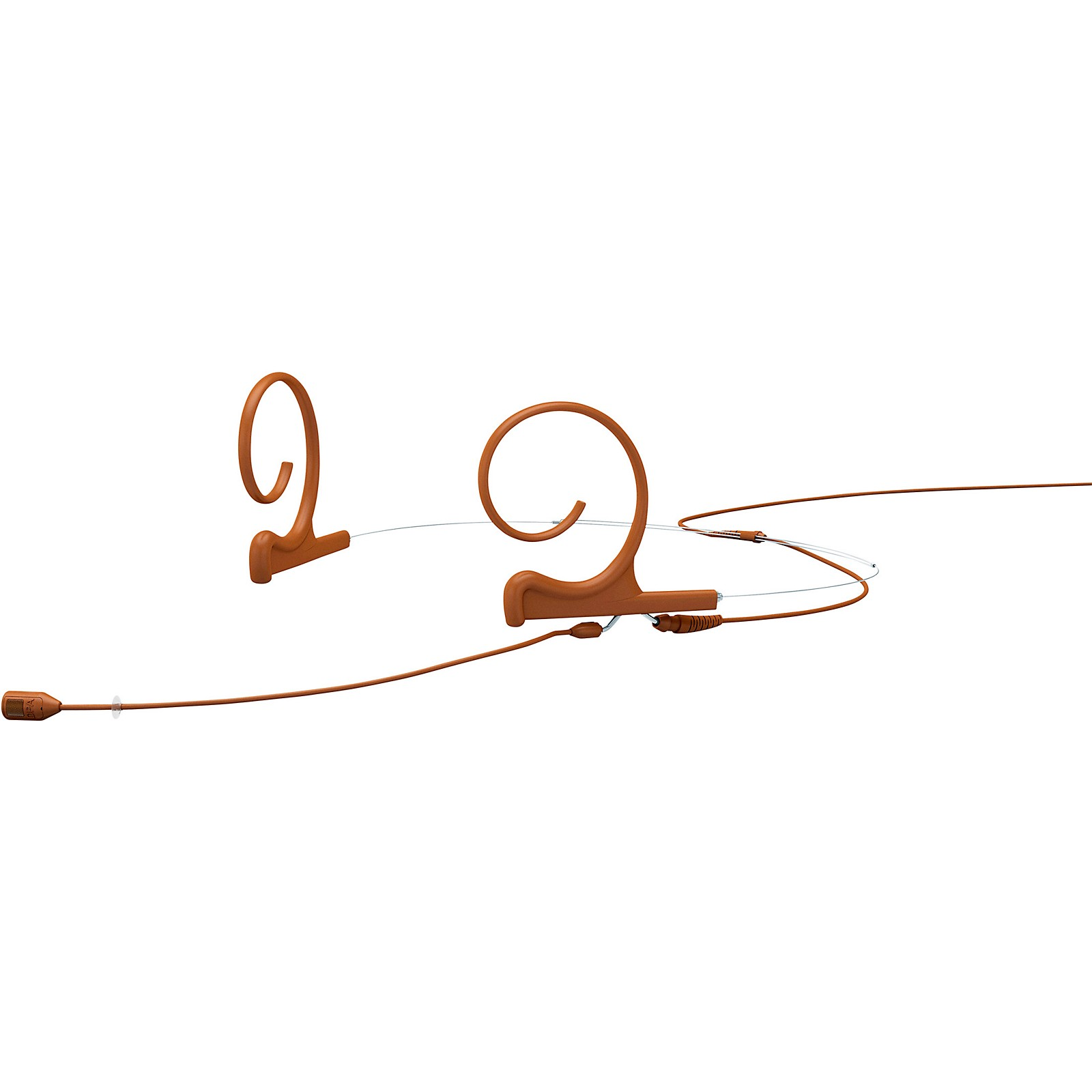 DPA Microphones d:fine FID88 Directional Headset Microphone—Dual Ear, 120mm Boom, Microdot Connector, Brown